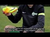 Сравнение футбольных бутс Nike Mercurial Vapor IX FG и Hypervenom Phantom FG (с русскими субтитрами)